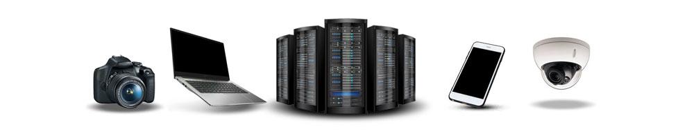Récupération de données sur tous les supports et systèmes d'exploitation