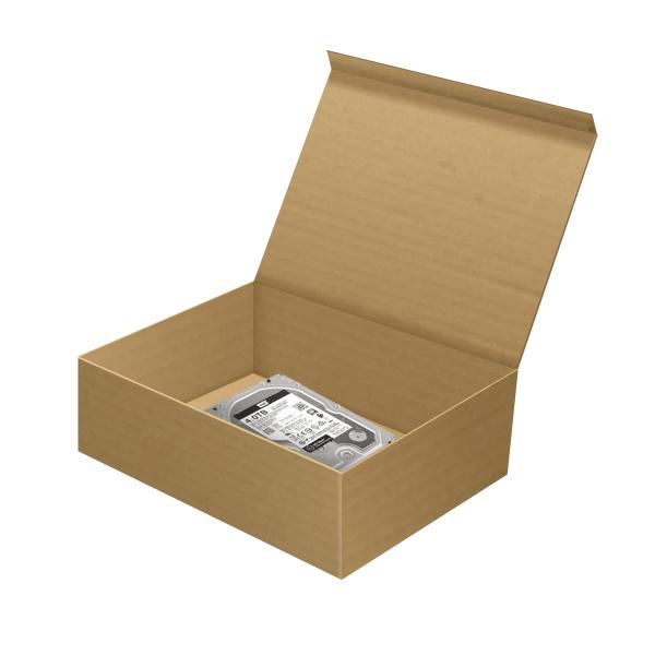 Shipping box for damaged hard drive