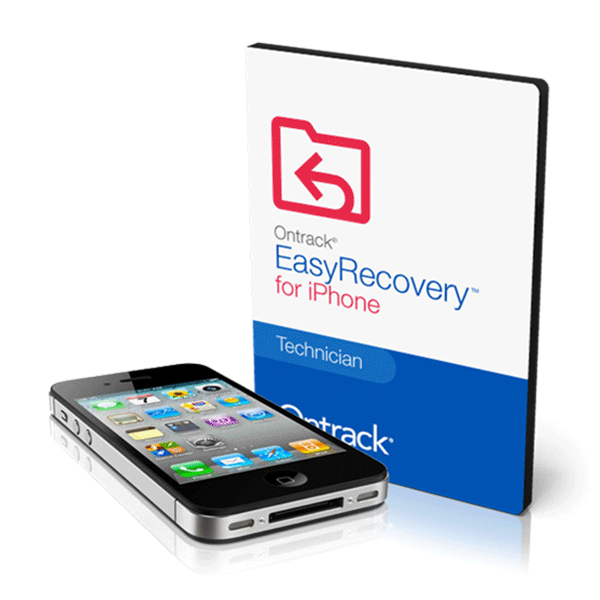Ontrack EasyRecovery iPhone voor Mac / Apple